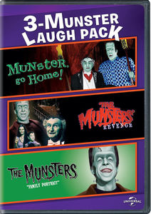 3-munster Laugh Pack: Munster Go Home!/ The Munsters' Revenge/ The