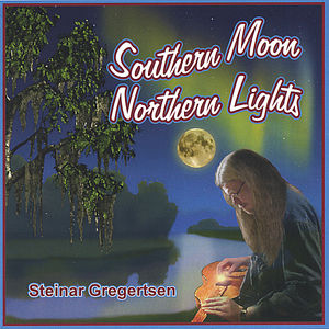 Southern Moon Northern Lights