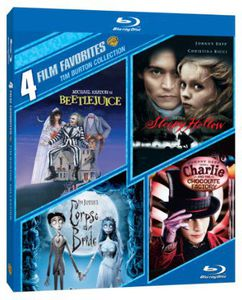 4 Film Favorites: Tim Burton Collection