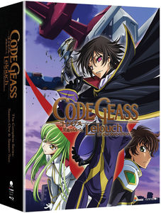 Code Geass: Lelouch Of The Rebellion Seasons One And Two Collector's Edition