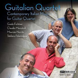 Contemporary Italian Music for Guitar Quartet