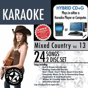 Mixed Country with Karaoke Edge 13 /  Various