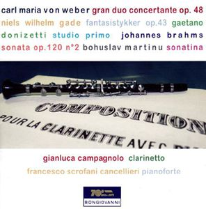 Various Works for Clarinet & Piano