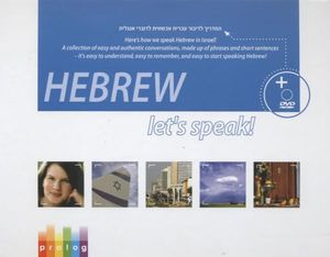 Let's Speak Hebrew: Book Plus