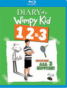 Diary of a Wimpy Kid 1 & 2 & 3