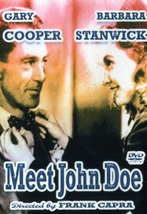 Meet John Doe with Gary Cooper & Barbara Stanwyck