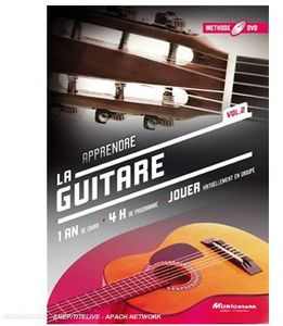 Methode DVD: Apprendre la Guitare