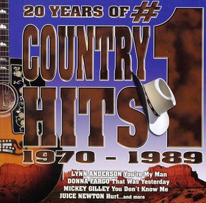 20 Years of #1 Country Hits 1970-1989 /  Various