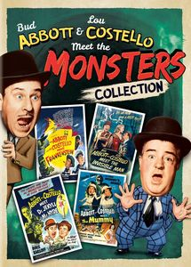 Bud Abbott & Lou Costello Meet the Monsters Collection