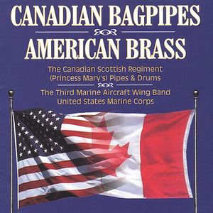 Canadian Bagpipes American Brass /  Various