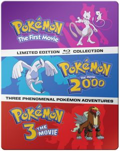 Pokemon Movies 1-3: Collection