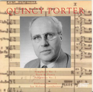 Orchestral Music of Quincy Porter