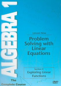 Problem Solving with Linear Equations