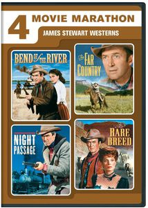 4 Movie Marathon: James Stewart Western Collection