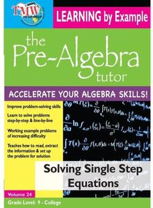 Solving Single Step Equations