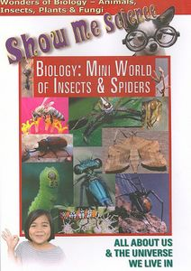Biology: Mini World of Insects & Spiders