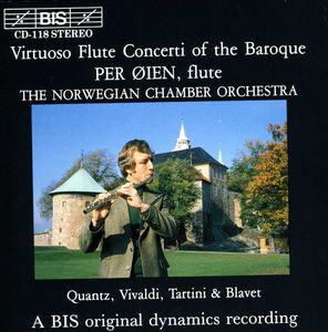 Virtuoso Flute Concerti of the Baroque /  Various