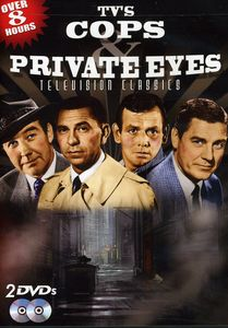 TV's Cops & Private Eyes 1950-1965