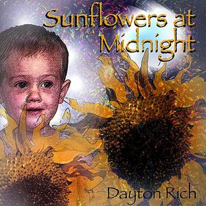 Sunflowers at Midnight