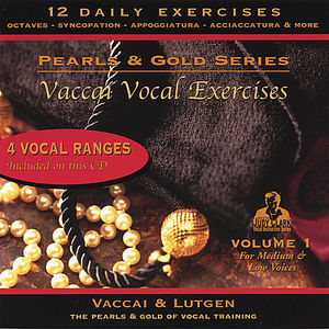 Vaccai Vocal Exercise