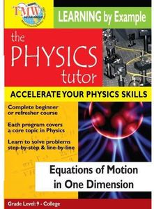 Equations of Motion in One Dimension