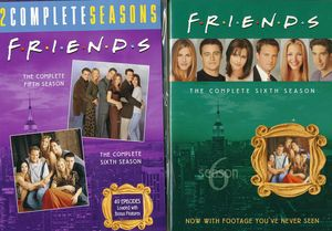 Friends: The Complete Fifth & Sixth Seasons