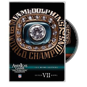 Miami Dolphins Super Bowl Vii: NFL America's Game