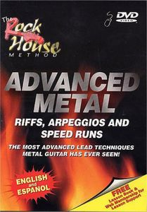 Advanced Metal: Riffs Arpeggios & Speed Runs