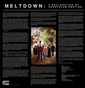 Meltdown /  Declaration of Unpopular Emotion