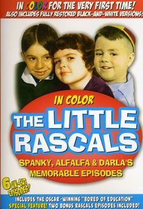 Little Rascals: Spanky Alfalfa & Darla's Memorable