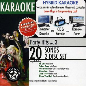 Karaoke: Party Hits with Karaoke Edge /  Various