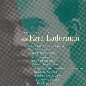 Music of Ezra Laderman 2