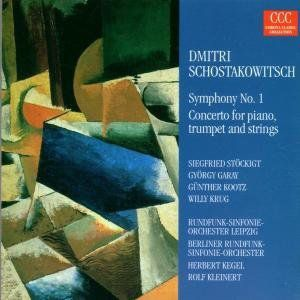 Symphony No 1: Concerto for Piano Trumpet & String