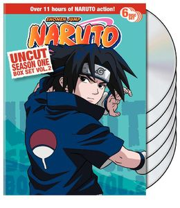 Naruto Uncut Season 1 V.2 Box Set