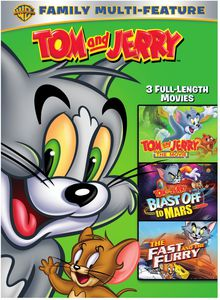 Tom & Jerry Movies 3-Pack