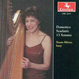 13 Sonatas Transcribed for Harp By Susan Miron
