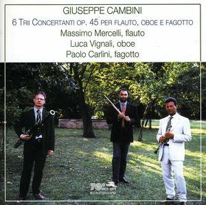 Trios for Flute Bassoon & Oboe