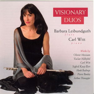 Visionary Duos: Contemp Music Flute & Piano /  Various