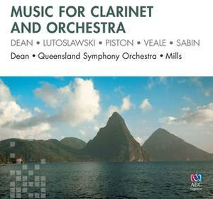 Music for Clarinet and Orchestra: Dean Lutoslawski
