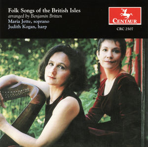 Folk Songs of the British Isles (Arr Britten)