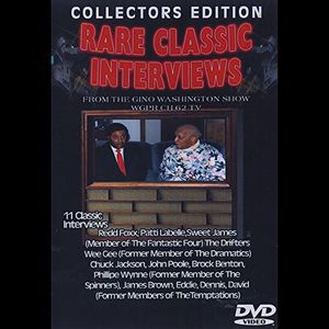 Rare Classic Interviews from Gino Washington Show