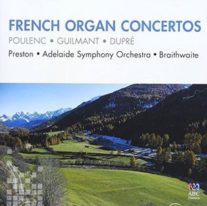 French Organ Concertos