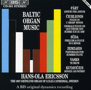 Baltic Organ Music /  Various