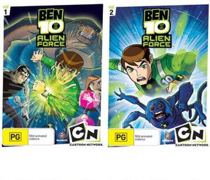 Ben 10 Alien Force: Season One V. 1 & 2