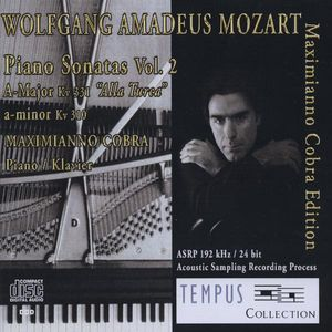 Mozart-Sonatas/ A-Major KV 331 & A-Minor KV 310 Vol. 2