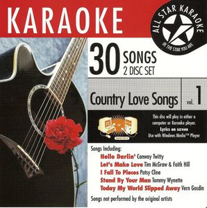 Karaoke: Country Love Songs 1 /  Various