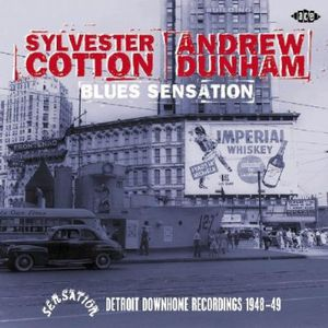 Blues Sensation: Detroit Downhome Rec. 1948-49 [Import]