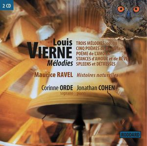 Louis Vierne-Melodies