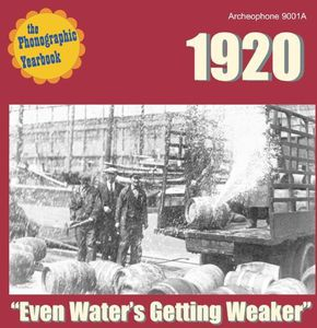 Phonographic Yearbook 1920: Even Water's /  Various