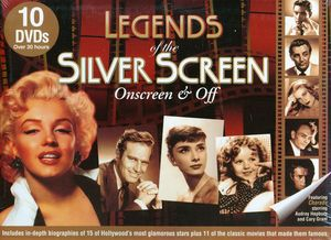 Legends of the Silver Screen: The Biographies Coll